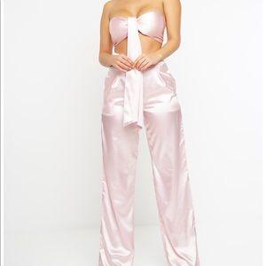Pink Silk Set